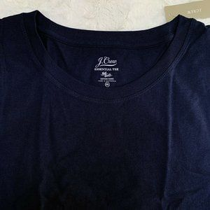 J Crew Essential Tee Navy Blue Short Sleeve XXL